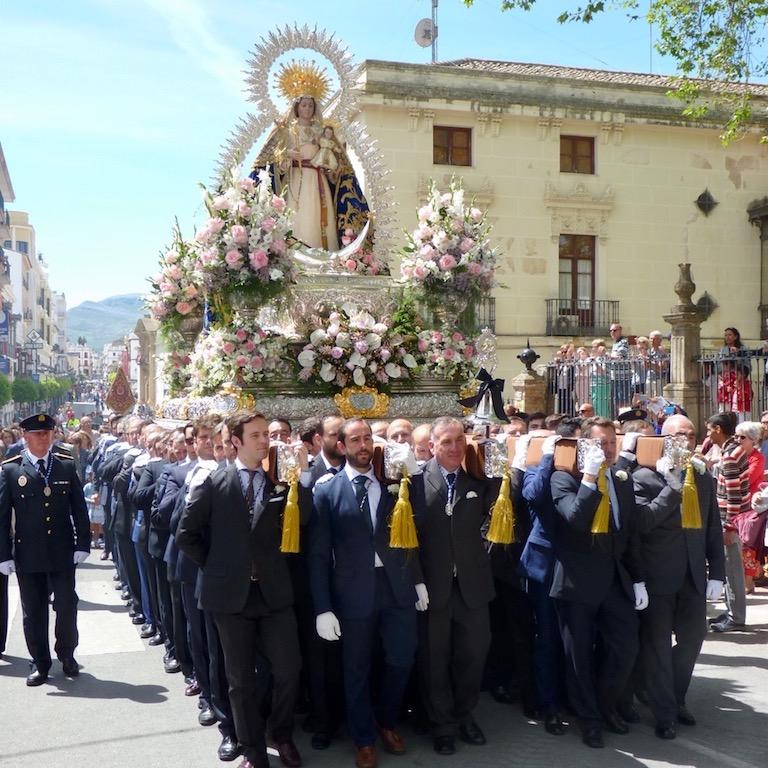 processie in Ronda