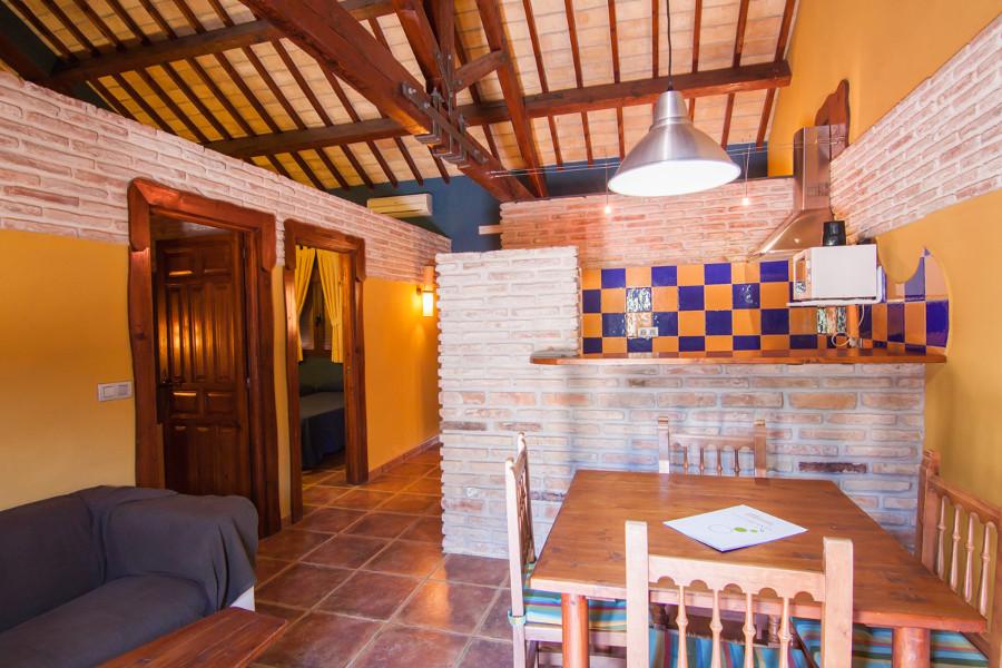 appartement met twee slaapkamers aan de Caminito del Rey