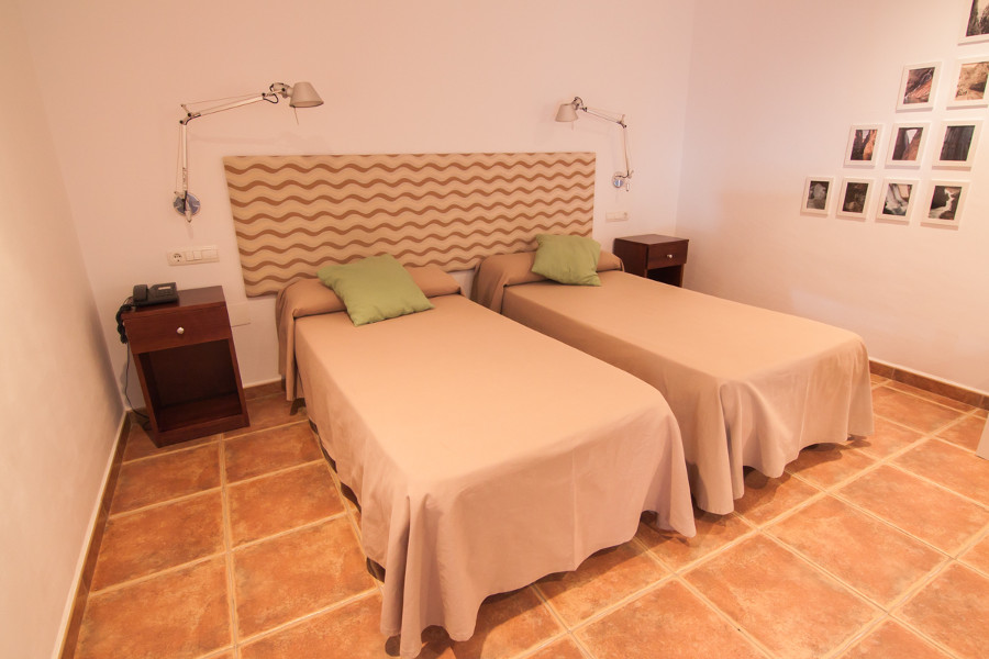 Standaard tweepersoonskamer met twin beds Caminito hotel