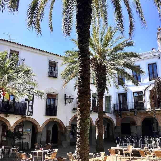 Plaza Chica in Zafra