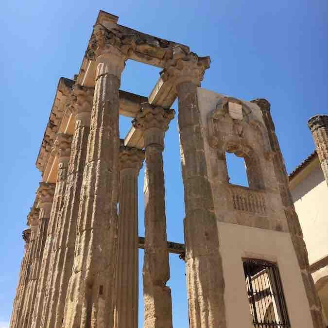 Diana tempel in Mérida