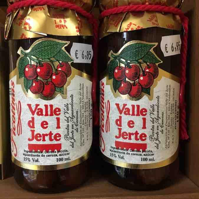 Jam van de kersen uit de beroemde Valle de Jerte