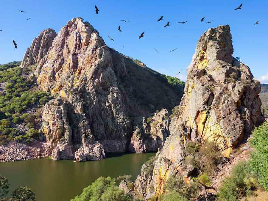 Salto del Gitano in Monfragüe