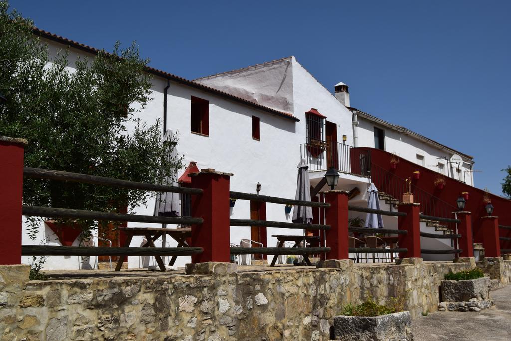 De Façade van de Andalusiche boerenhoeve