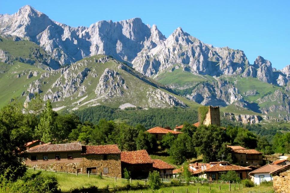 Mogrovejo in de Picos de Europa