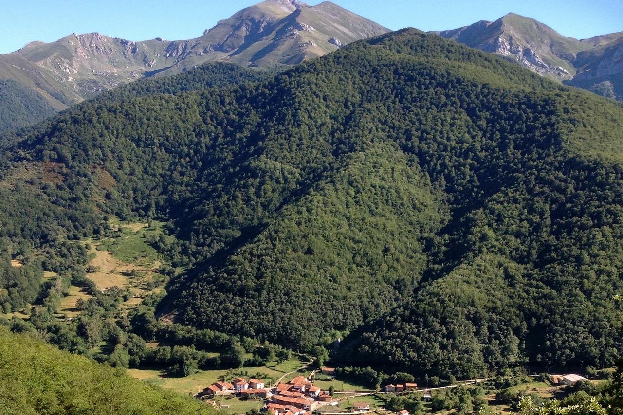Vallei in de omgeving van Potes, Picos de Europa