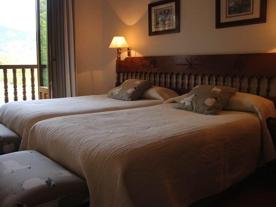 tweepersoonskamer, hotel Picos de Europa