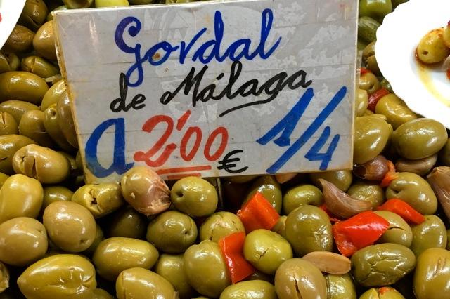 Olijven op de Mercado Central