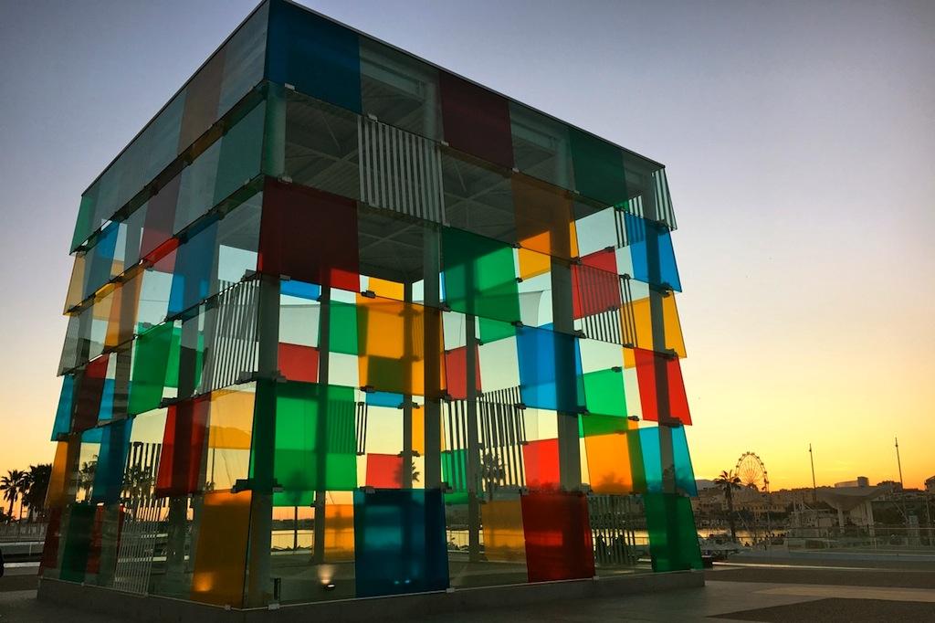 Het Centre Pompidou in Malaga