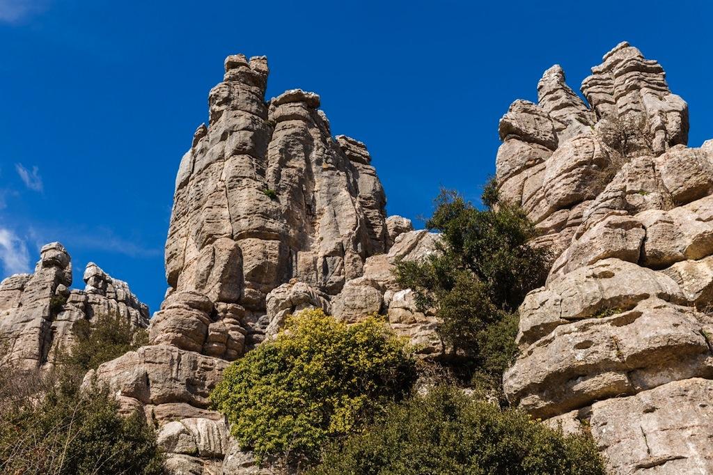 Nog meer gekke rotsen in El Torcal