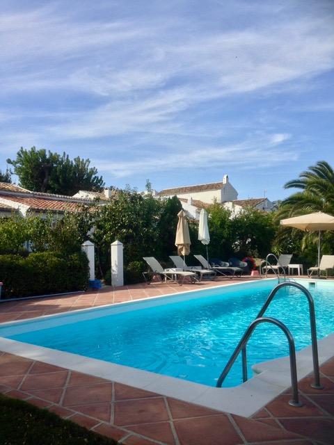 Hotel bij Ronda zwembad