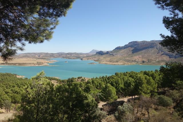 Prachtige meren gebied bij Ardales
