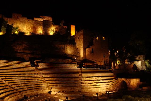 Malaga Teatro Romano