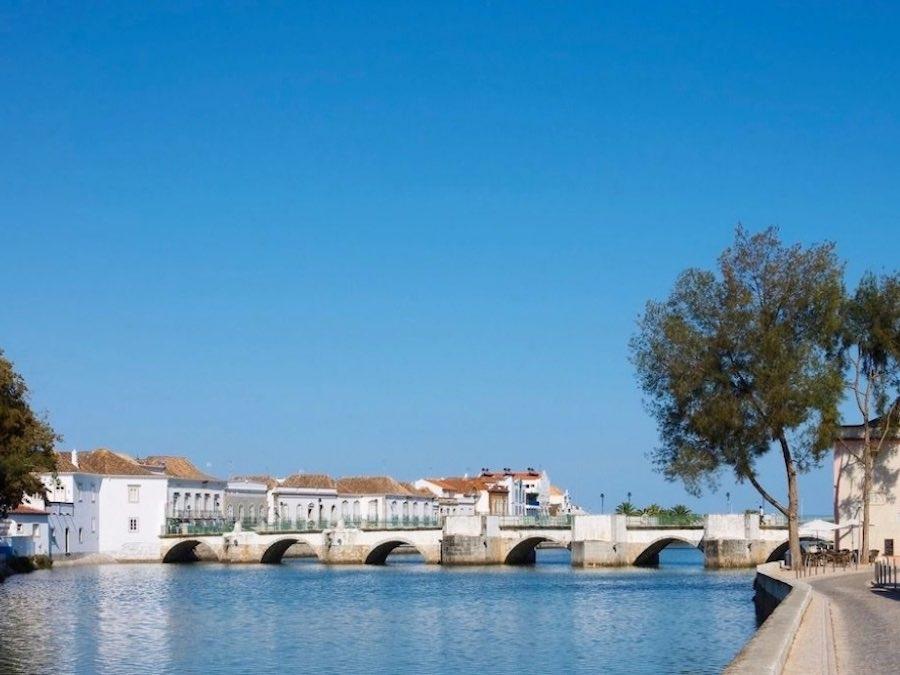 Brug bij Tavira, Algarve