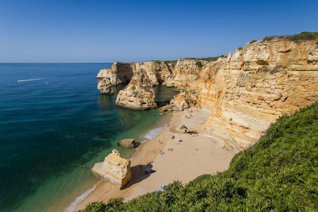 Strand bij Lagos Algarve