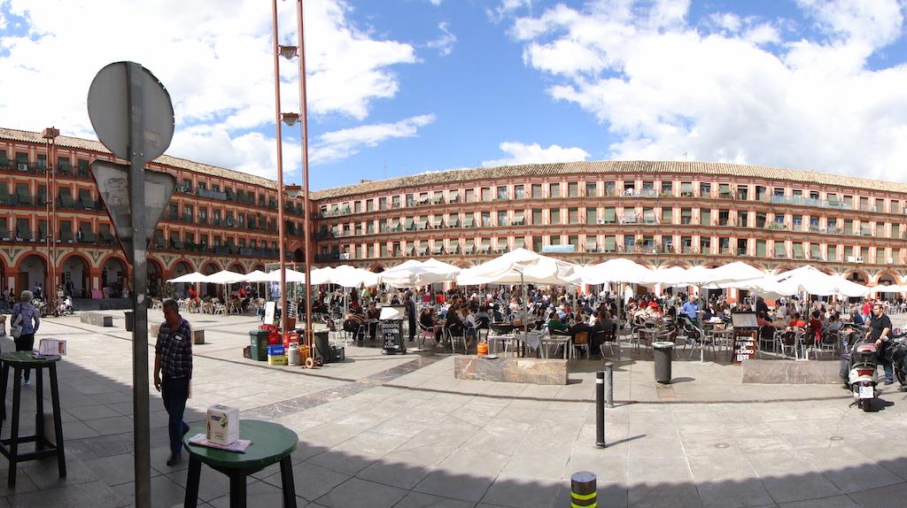 Plaza Corredera in Córdoba