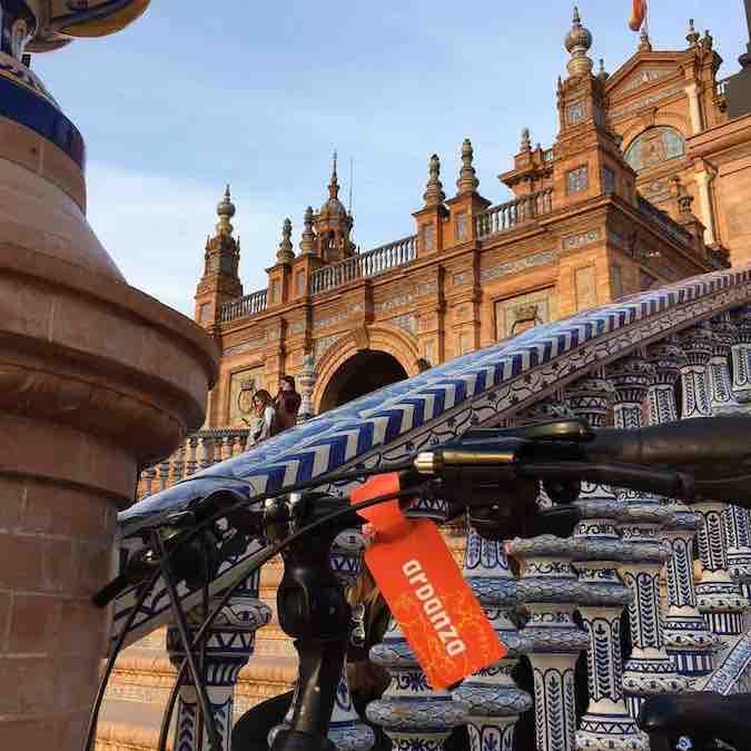 Met korting op fietstour in Sevilla