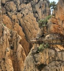 Caminito del Rey in Andalusië