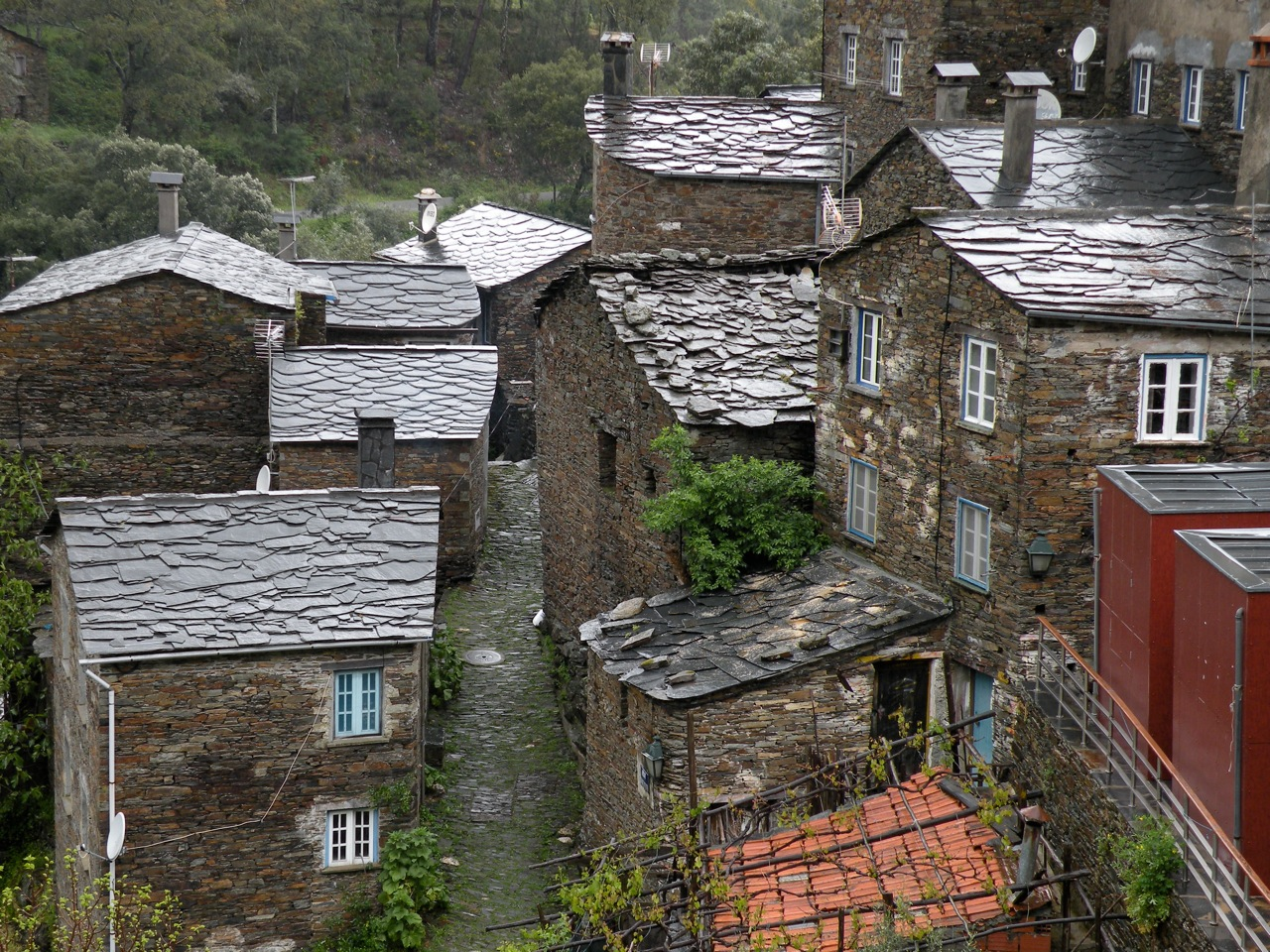 Piodão, het leistenen dorpje in de Serra da Estrela