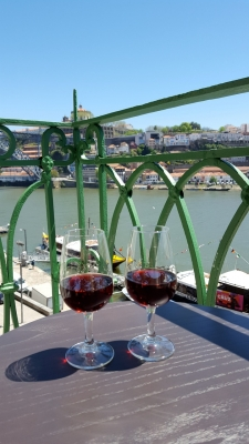 Port in de Sandeman bodega aan de Douro