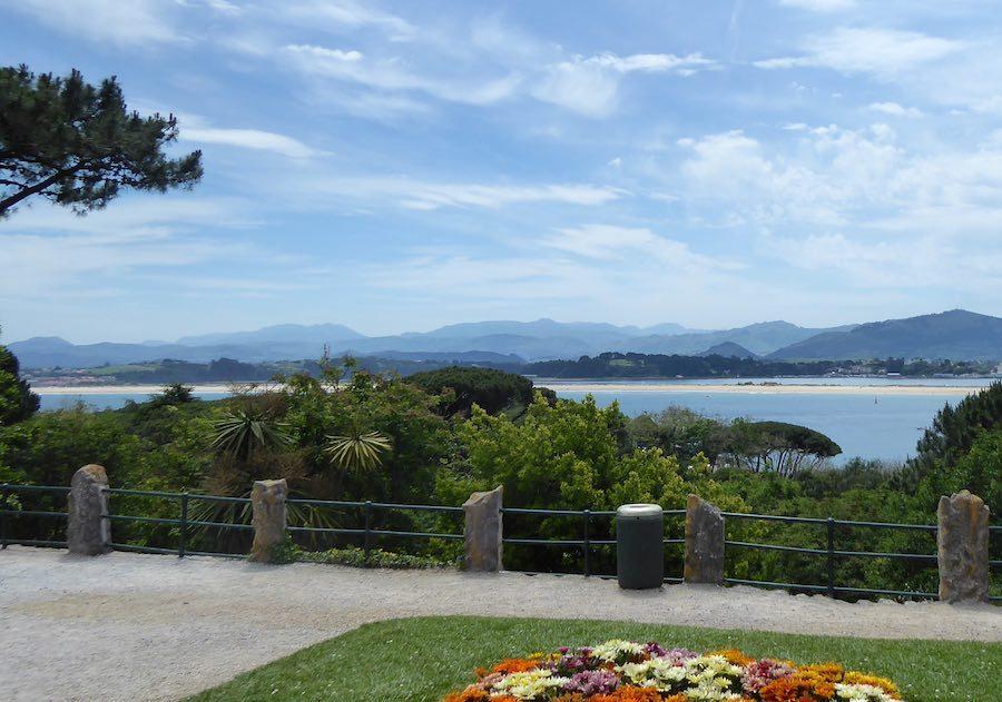 uitzicht Magdalena Paleis Santander  juni 2019