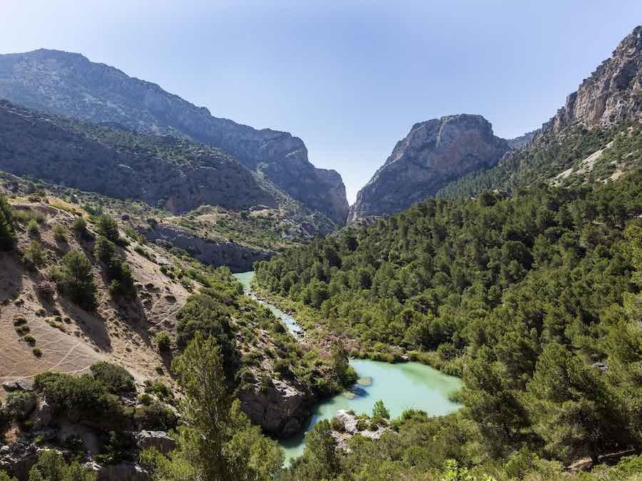 El Chorro,  omgeving Caminito del Rey