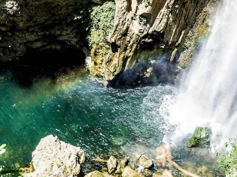 Watervallen bij Ronda