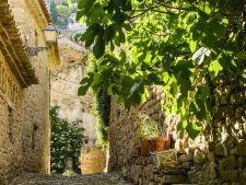 In het dorpje