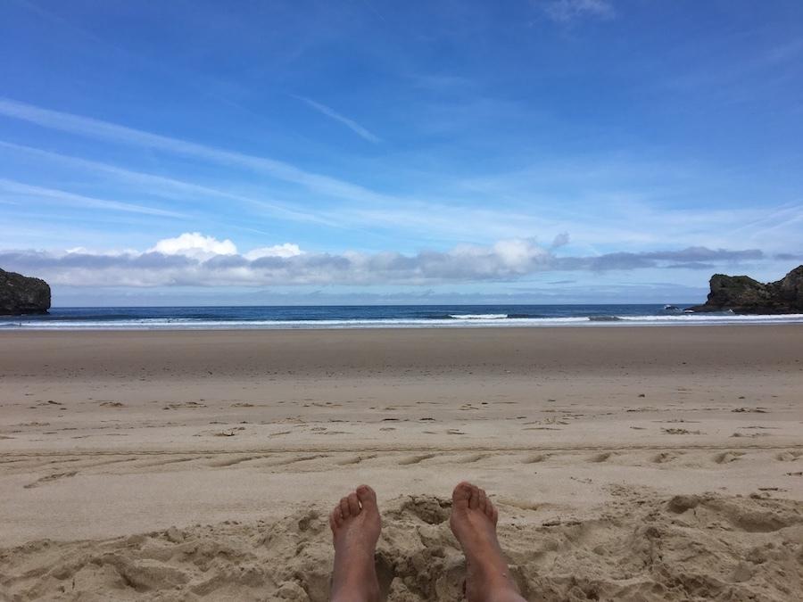 De rustige strandjes
