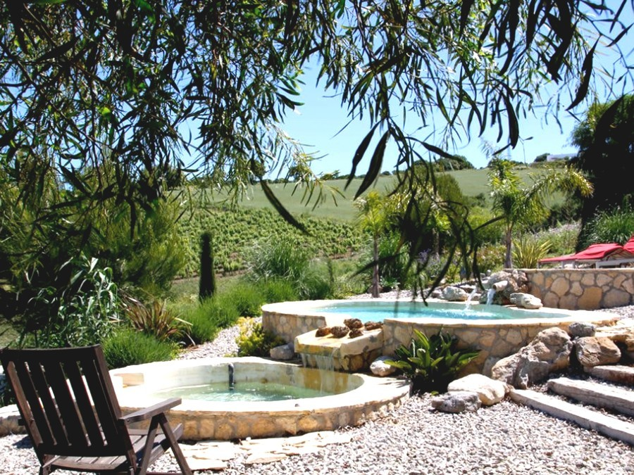 Huisje in een wijngaard in het zuiden van Andalusië