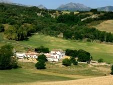 gastvrije Cortijo met 9 gastenkamers met terras
