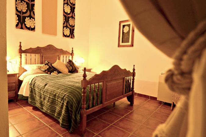 Een van de slaapkamers