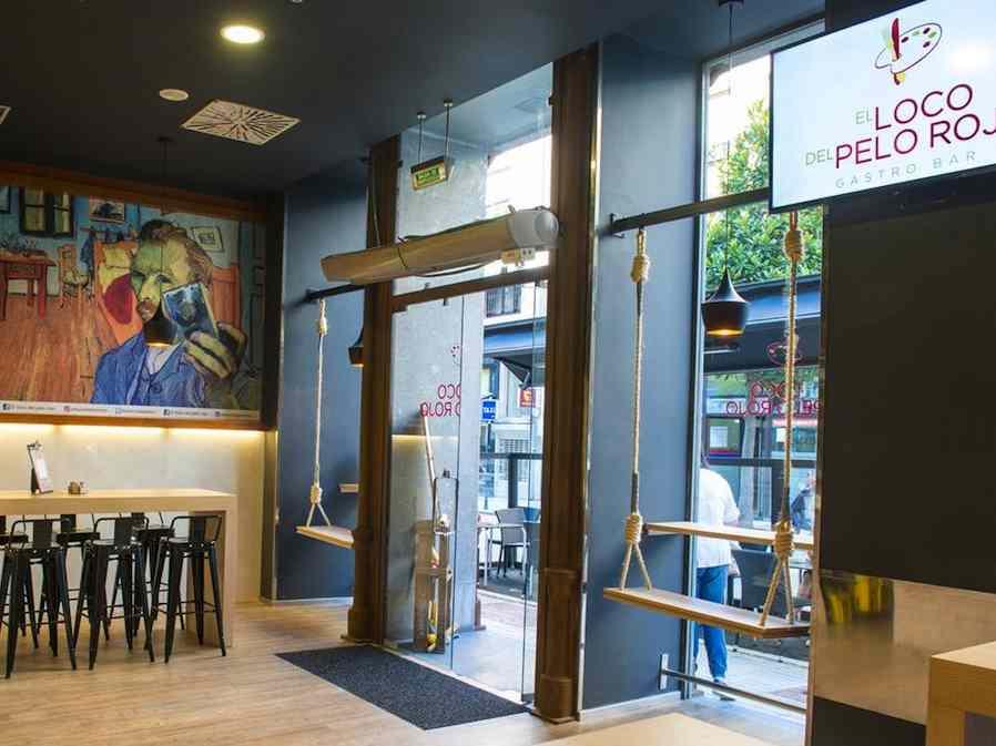 restaurant op de begane grond hotel Oviedo