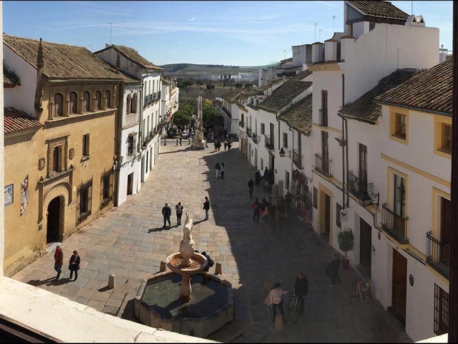 Uitzicht Plaza de Potro
