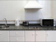 Keuken in standaard appartement