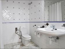 Badkamer standaard appartement