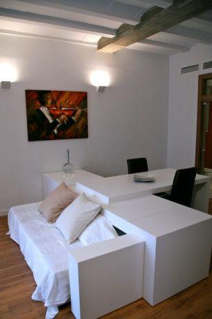 Studio appartement met slaapbank