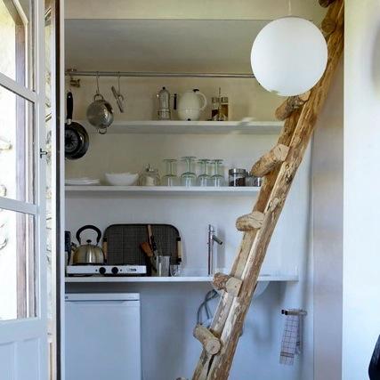 Keuken in de kleine suite