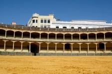 Het Plaza del Toro in Ronda