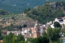 Een van de witte dorpjes in de Alpujarra