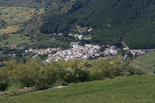 Een van de witte dorpjes