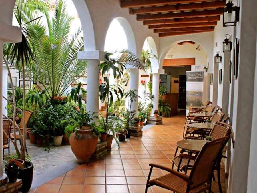 Klein hotel in het oude centrum van Conil de la Frontera