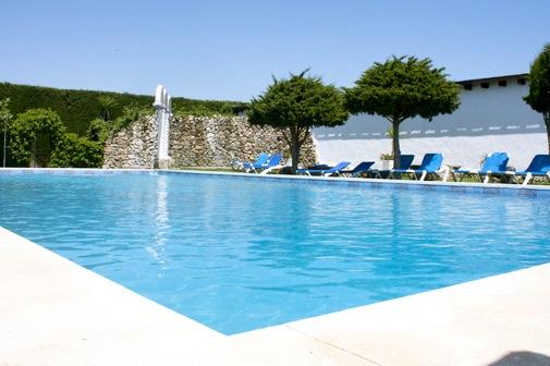 Het gemeenschappelijke zwembad