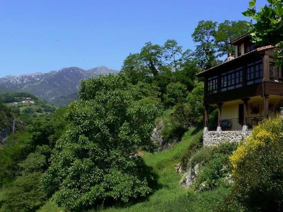 Een van de rurale hotels waar u verblijft