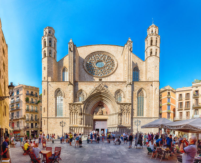Santa Maria del Mar in el Born