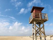 Het strand van El Palmar