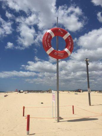 Het strand bij Tavira - Algarve