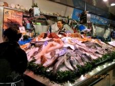 Een van de overdekte markten in Valencia