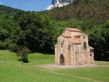 Rondreis Noord Spanje Asturias hans Romaasn erfgeod san miguele de lillo oviedo fly drive