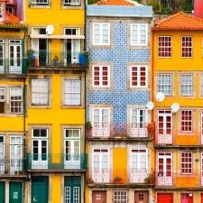 Prachtige gevels in Porto